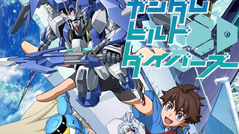 Sunrise Umumkan Seri Gundam Build Divers Baru!