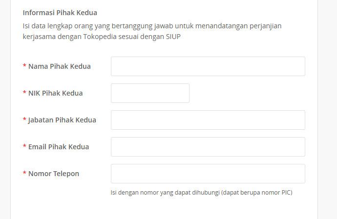informasi official store tokopedia
