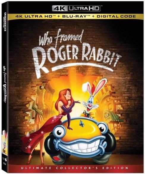 roger rabbit 4k UHD Blu Ray Disney