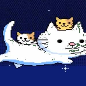 ファミコン世代の猫好き必見!8ビットの猫がカワイイ