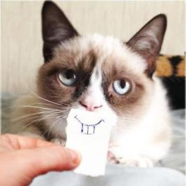 擬似出っ歯!