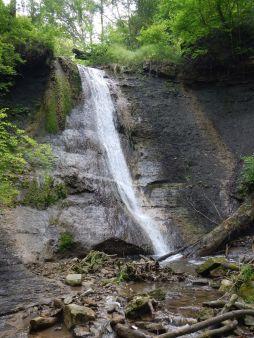 Die Schleifenbachwasserfälle bei Blumberg