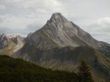 Vom südlichsten Zipfel Deutschlands aus gesehen, links der Hochrappenkopf