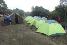 Ankunft im Simba-Camp auf 2671m