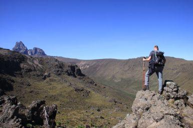 Blick ins Liki Valley, dem wir aufwärts folgen werden