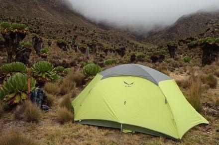 Im Shipton's Hut Camp