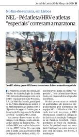 20 Março 2014 – Jornal de Leiria