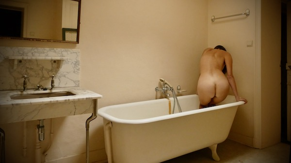 urban female nude photography bathroom