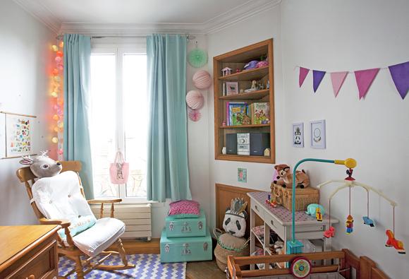 Inspiration rustique chic pour la chambre de bébé
