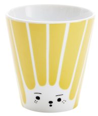 Tasse jaune lady chanterelle en porcelaine house of rym -Le cochon truffier - wishlist deco et idees cadeaux - Blog Bordeaux Ne le dites a personne