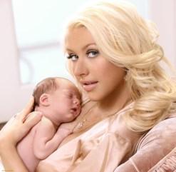 Christina Aguilera et Summer Rain - L'épineuse question du prénom - Blog Maman Bordeaux Ne le dites a personne