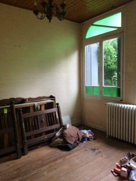 Échoppe à rénover Bordeaux - séjour - Blog Bordeaux Ne le dites à Personne - #échoppe #échoppebordeaux #bordeaux #travaux #rénovation #surélévation #blogbordeaux