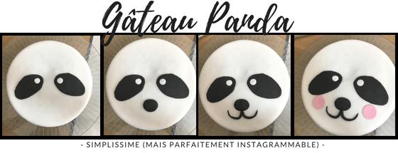 Etapes de confection du gâteau panda d'anniversaire en pâte à sucre : simplissime, mais instagrammable ! Blog Maman Ne le dites a personne #pateàsucre #gateaudanniversaireenfant #gateauanniversaire #decorpateasucre #blogmaman #anniversaire #neleditesapersonne
