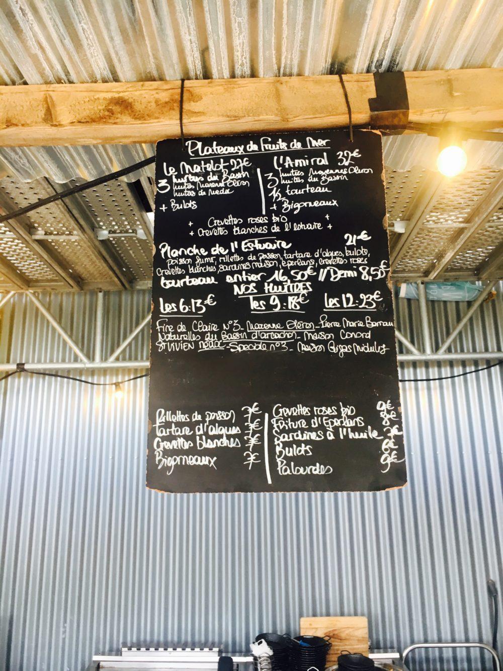 Carte Les Chantiers de la Garonne - Restaurant kids friendly a Bordeaux - 5 terrasses bordelaises a faire en poussette - Blog Maman Bordeaux Ne le dites a personne #leschantiersdelagaronne #darwinbordeaux #terrassesbordeaux #restaurantbordeaux #kidsfriendlybordeaux #blogmaman #blogbordeaux #bonnesadressesbordeaux #neleditesapersonne
