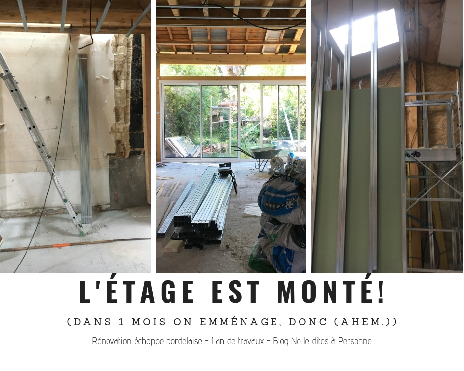 La surrelevation - Renovation surelevation maison echoppe bordelaise - 1 an de travaux - Blog Bordeaux Ne le dites a Personne #Rénovation #rénovationmaison #echoppe #echoppebordeaux #echoppe bordelaise #rénovationechoppe #surelevationechoppe #bordeaux #blogbordeaux #neleditesapersonne