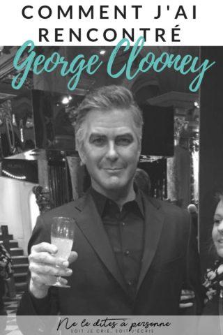 Comment j ai rencontre George Clooney - Blog culture Ne le dites a Personne #museumdebordeaux #museedhistoirenaturelle #enfantsbordeaux #georgeclooney #blogculture #rencontrergeorgeclooney #blogmaman #blogenfants #neleditesapersonne #museegrevin #grevin #blogparis