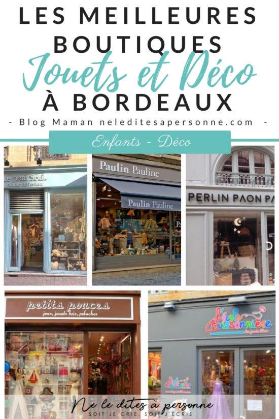 Ma sélection des plus jolies boutiques indépendantes de jouets et décoration à Bordeaux - Blog Famille Ne le dites à Personne #blogmaman #blogfamille #magasinsjouetsbordeaux #bordeaux #cityguidebordeaux #bordeauxkidsfriendly #blogbordeaux #neleditesapersonne