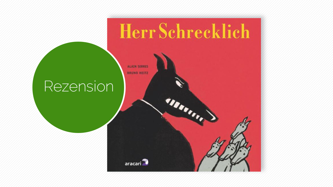 Buchcover vom Kinderbuch: Herr Schrecklich