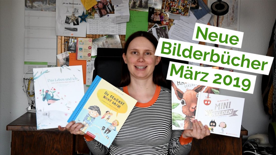 "Standbild aus dem YouTube Video ""Unboxing 18 – Bilderbücher"""