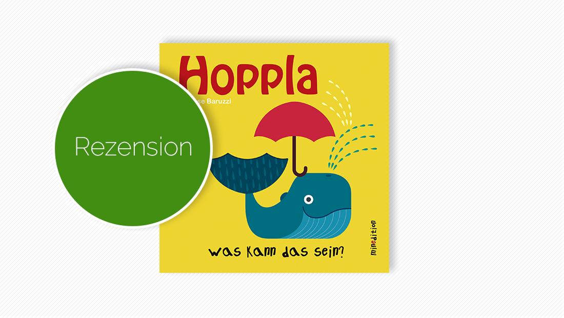 """Buchcover vom Pappbilderbuch """"Hoppla: Was kann das sein?"""""""