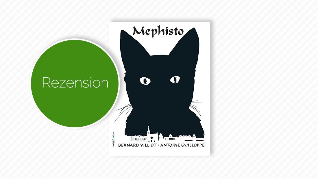 """Buchcover vom Bilderbuch """"Mephisto"""""""