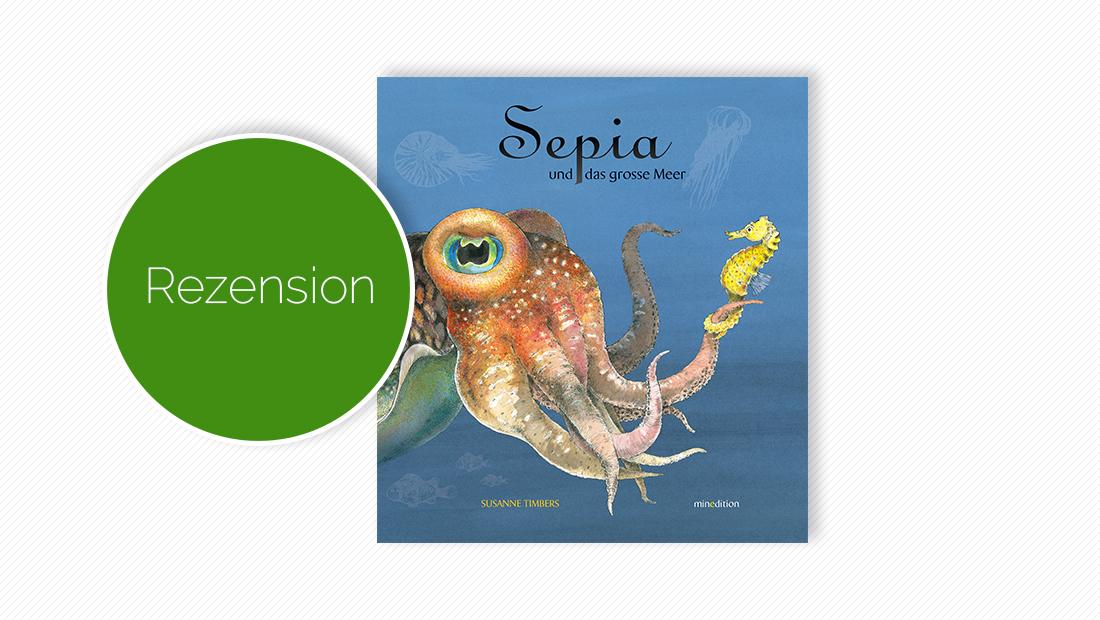 """Buchcover vom Pappbilderbuch """"Sepia und das grosse Meer"""""""