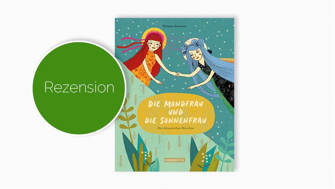 """Cover vom Bilderbuch """"Die Mondfrau und die Sonnenfrau"""""""