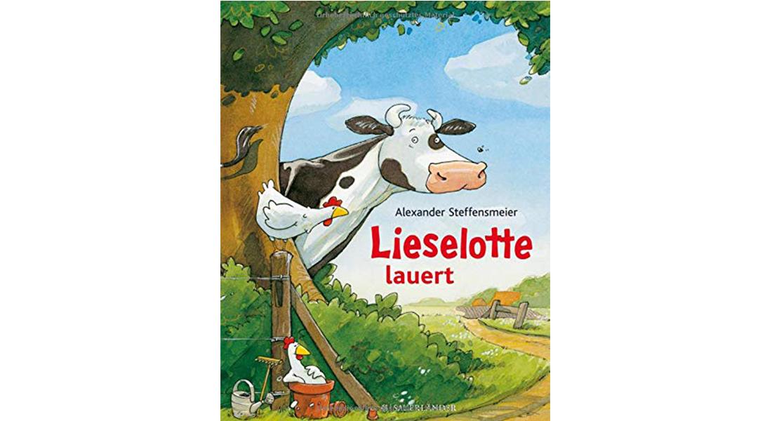 """Cover vom Bilderbuch """"Lieselotte lauert"""" von Alexander Steffensmeier"""