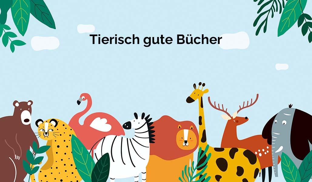 Coverbild zur Folge Tierisch gute Bücher