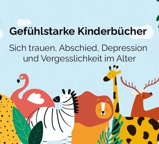 Coverbild zur Folge Gefühlsstarke Kinderbücher