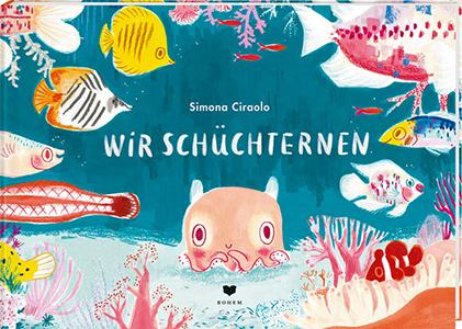 Cover vom Bilderbuch Wir Schüchternen