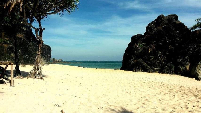 Der Strand in Kuta Lombok