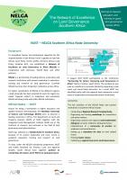 NELGA Factsheet NUST_EN