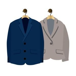 お手入れ①:着用後はスーツをハンガーにかける