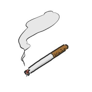 タバコの喫煙が原因で胸が垂れる