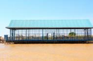 Floating Basketball Court, Cambodia
