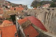 City Wall Rooftop Court, Dubrovnik, Croatia