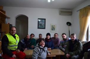 Coi colleghi a Gevgelija