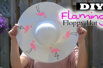 Diy flamingo hat, summer hat diys, summer diy videos, diy summer videos, top summer diys, flamingo diys, floppy hat diy, nelle creations diy, Toronto diy blogger, flamingo printed DIYs, Sumemr 2015 diys, flamingo summer hat, flamingo costume, diy costume, diy tutorials, diy flamingo tutorial, diy clothes, diy crafts, diy pinterest