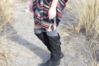 DIY Knee High Socks