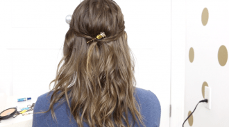 Curling Hair With a Straightener