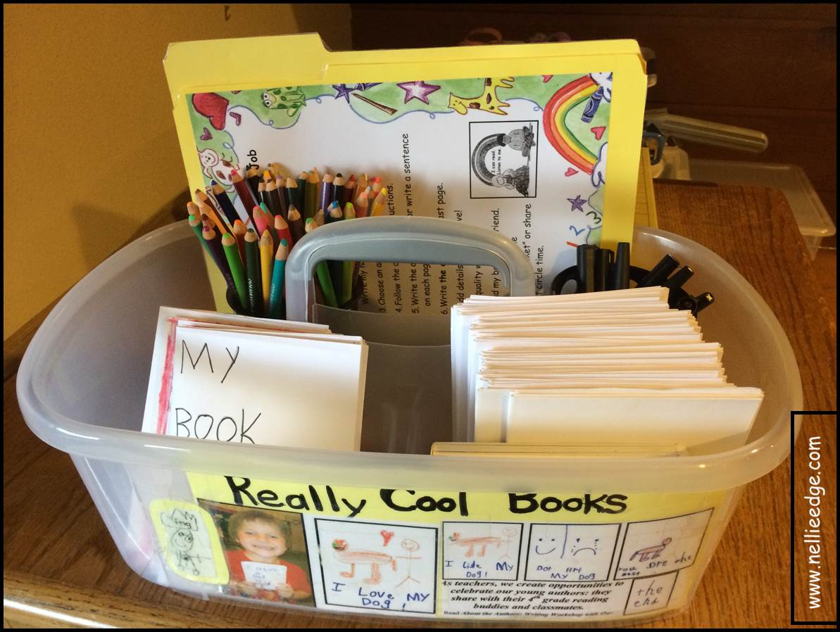 The Easiest Way To Publish Kindergarten Writing Because All Children Love To Make Books