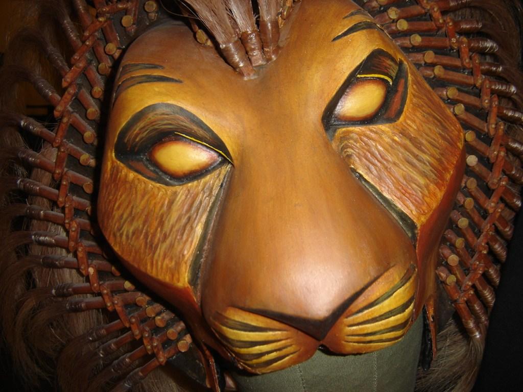Le masque de Simba