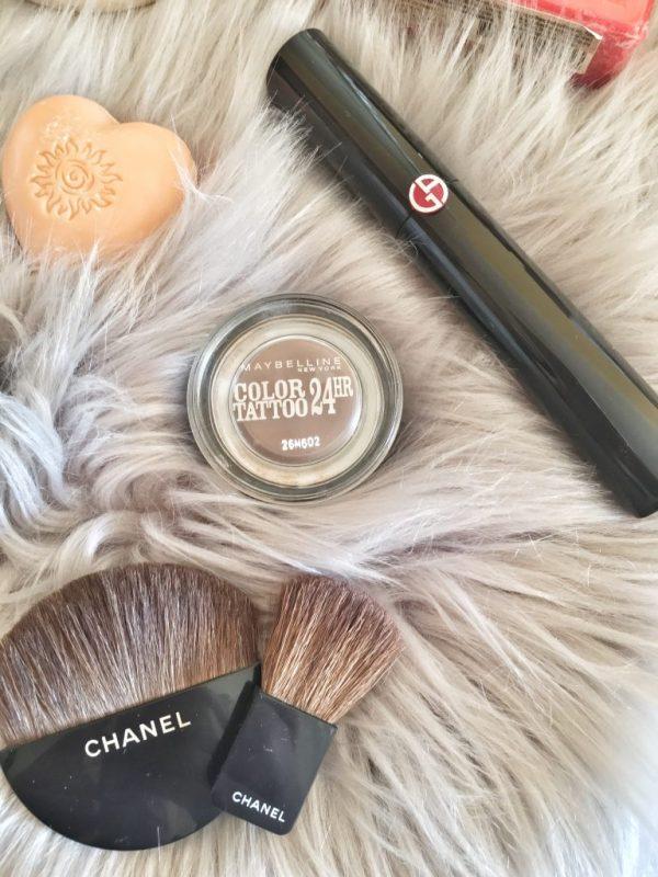 Mascara Armani e ombretto in crema Maybelline