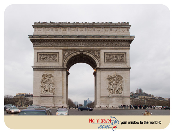 Arc de Triomphe; Paris landmarks; Arch of Titus; Paris tourist attractions