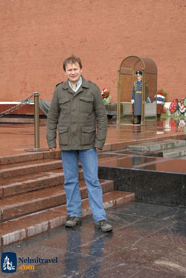 The Grave of the Unknown Soldier in Moscow