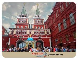 Иверские ворота,Resurrection Gate,Iberian Gate, Moscow Historical Places,Red Square