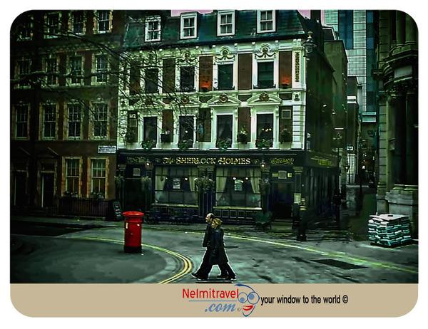 Sherlock Holmes Pub,Pubs in London,Sherlock Holmes;Watson;Sherlock Holmes Museum;The adventures of Sherlock Holmes