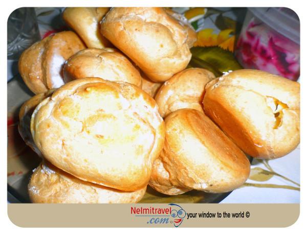 Cream puffs,eclairs,Zavarnoje Piroghnoje,Заварное пирожное,éclairs,dessert recipes;Cream Puff;Pastry Cream