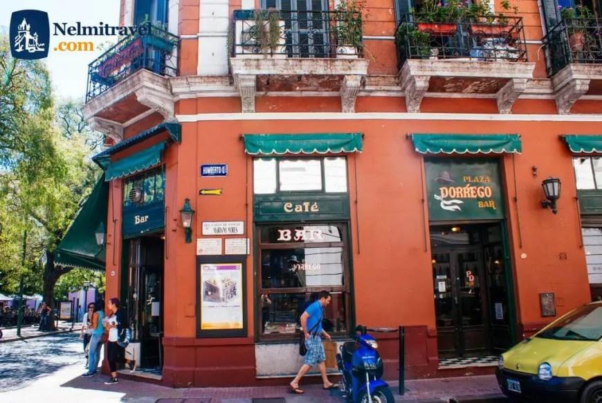 Dorrego Bar,Plaza Dorrego Bar,Bares en San Telmo,Bar San Telmo,Buenos Aires Plaza Dorrego,Juan Carlos Pallarols,Juan Pallarols